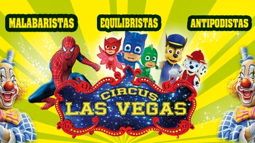 Circus Las Vegas en Lorca: 1 adulto + 1 niño