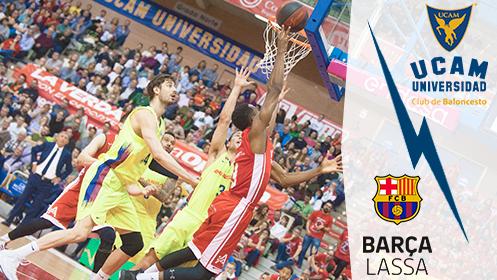 Entradas UCAM Murcia CB vs FC Barcelona Lassa (24 nov)