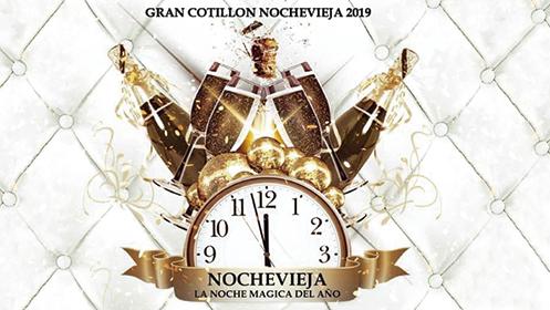 Gran Cotillón Nochevieja 2019 con Cacio Boat Party