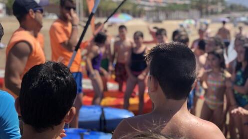 Iniciación y travesía en kayak en Mazarrón