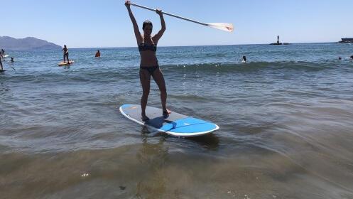 Paddel Surf: Iniciación y travesía en Mazarrón