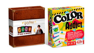 Juego de cartas de Harry Potter + Color Addict