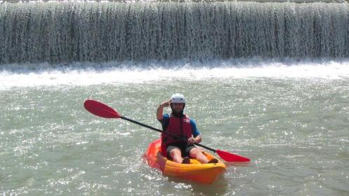 Río Segura: descenso en Kayak individual y doble