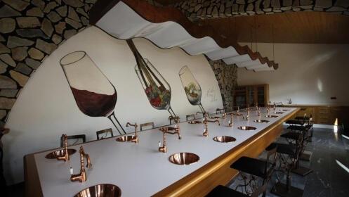 Bodegas Luzón: cata, degustación, botella de vino y copa de regalo