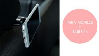Soporte Dexler móvil o tablet para asiento trasero