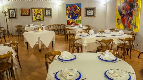 Menú mediterráneo de lujo en Restaurante Vita Nova