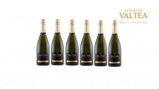 6 botellas de espumoso Valtea Brut Nature D.O. Rías Baixas