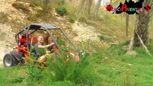 Ruta en buggy con picnic y fotos