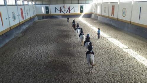 4 clases de equitación en Cuesta Blanca