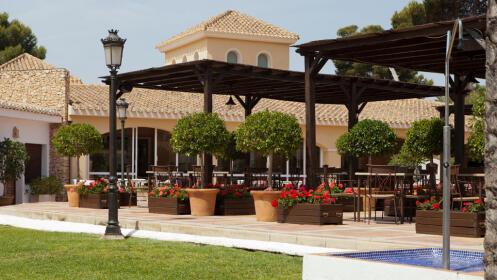 Menú especial en Hotel Montepiedra