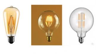 Bombillas LED de filamentos