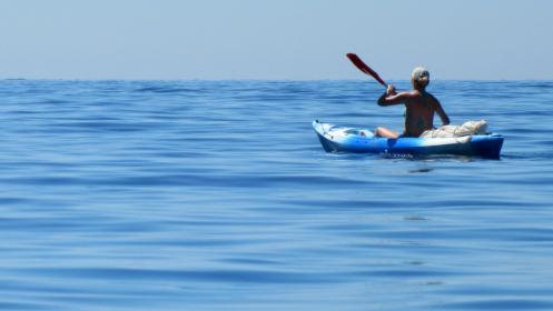 Kayak en Los Alcázares