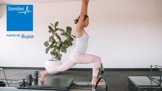 Centro Médico Milenium: 5 sesiones de pilates terapéutico