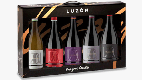 Estuche Luzón Colección: selección de cinco vinos