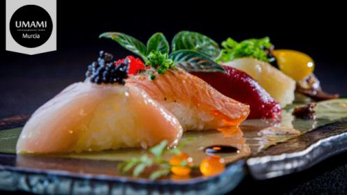 Umami: menú de cocina japonesa