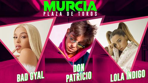 Bad Gyal, Don Patricio y Lola Índigo en concierto (22 may 2021)