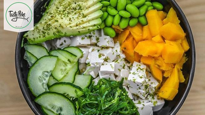 Tasty Poke Bar: la comida más saludable ahora en casa
