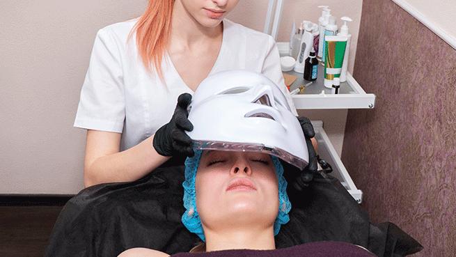 Centro Loveliness: microdermoabrasión con punta de diamante y máscara LED