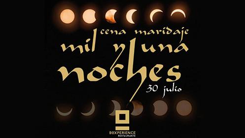 Marruecos en la mesa en Boxperience 30 de julio: menú maridado por Antonio Chacón