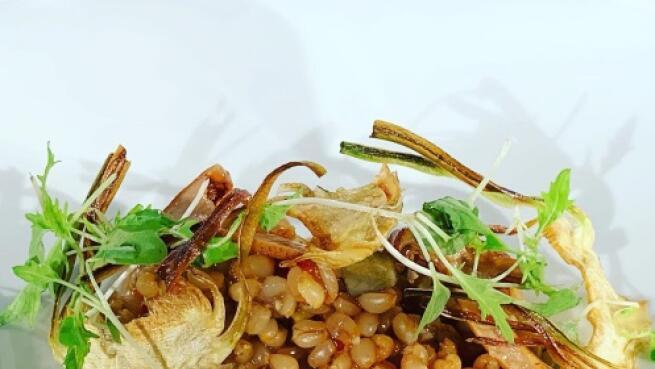 AlmaMater: menú de cocina de autor