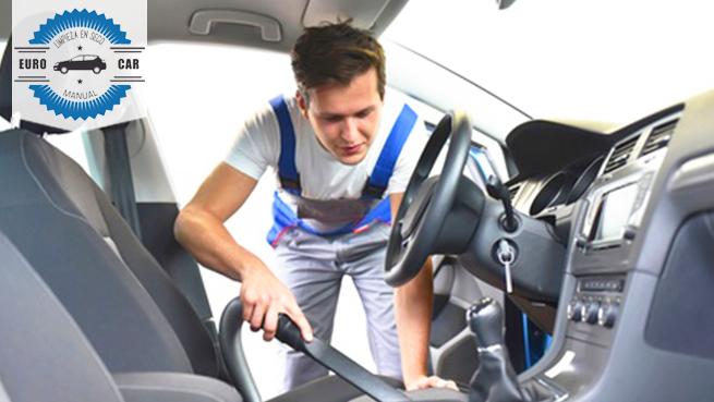 Eurocar: completo lavado y desinfección COVID de tu vehículo