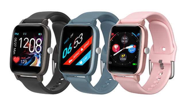 Smartwatch Thermo Care Advance con medición de temperatura