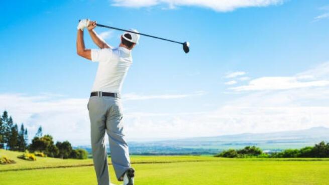 Clases de iniciación al golf con Antonio Parrón