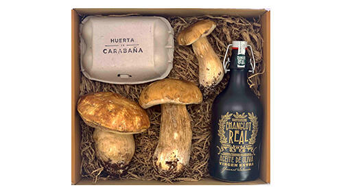 Pack boletus Huerta de Carabaña, con envío a domicilio