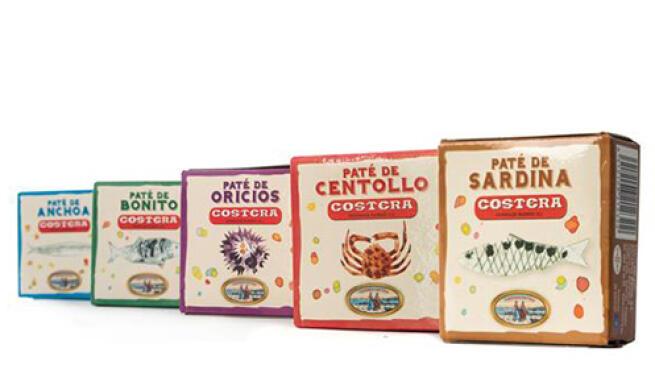 Lote gourmet asturiano de Conservas Costera