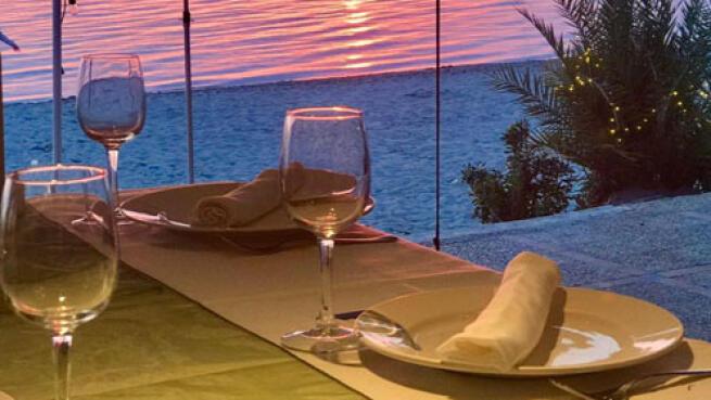 Área Sunset: menú caldero para 2 o 4 frente al mar