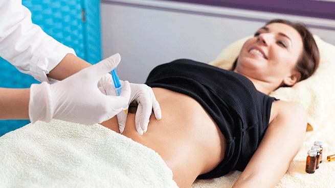 1 ó 2 viales de intralipoterapia con opción a mesoterapia corporal inyectada